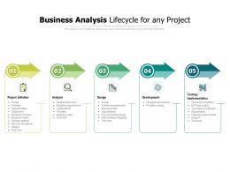 Business Analysis Lifecycle For Any Project