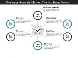 Business Analysis Market Risk Implementation Strategy Strategic Development Cpb