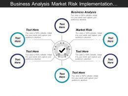 Business Analysis Market Risk Implementation Strategy Strategic Development Cpb