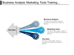 Business Analysis Marketing Tools Training Development Business Development Cpb