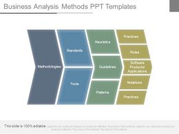 Business Analysis Methods Ppt Templates