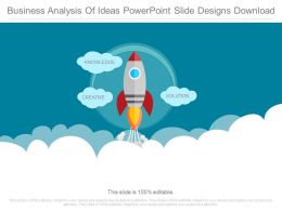 Business Analysis Of Ideas Powerpoint Slide Designs Download