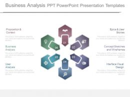 Business Analysis Ppt Powerpoint Presentation Templates