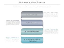 Business Analysis Practice Ppt Powerpoint Ideas