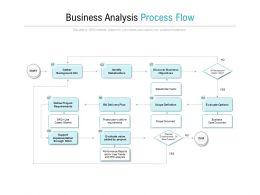 Business Analysis Process Flow