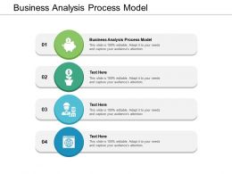 Business Analysis Process Model Ppt Powerpoint Presentation Gridlines Cpb