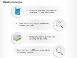 Business Analysis Results No Search Emails Magnifier Ppt Icons Graphics