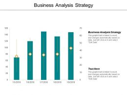 Business Analysis Strategy Ppt Powerpoint Presentation File Icon Cpb