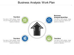 Business Analysis Work Plan Ppt Powerpoint Presentation Icon Slide Portrait Cpb