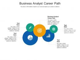 Business Analyst Career Path Ppt Powerpoint Presentation Summary Outline Cpb