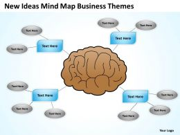 Business Analyst Diagrams New Ideas Mind Map Themes Powerpoint Slides