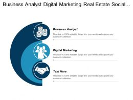 Business Analyst Digital Marketing Real Estate Social Media Marketing Cpb