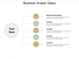Business Analyst Salary Ppt Powerpoint Presentation Infographics File Formats Cpb