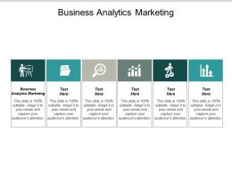 Business Analytics Marketing Ppt Powerpoint Presentation Outline Deck Cpb