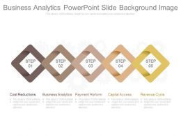 Business Analytics Powerpoint Slide Background Image