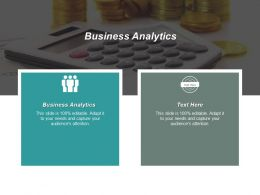 Business Analytics Ppt Powerpoint Presentation Infographic Template Inspiration Cpb