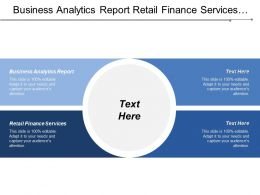 Business Analytics Report Retail Finance Services Customer Experience Cpb