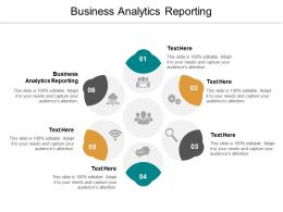 Business Analytics Reporting Ppt Powerpoint Presentation Portfolio Demonstration Cpb