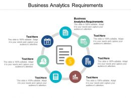 Business Analytics Requirements Ppt Powerpoint Presentation Icon Styles Cpb