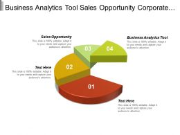 Business Analytics Tool Sales Opportunity Corporate Structure Erp