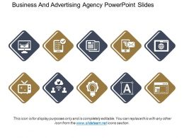 Business And Advertising Agency Powerpoint Slides