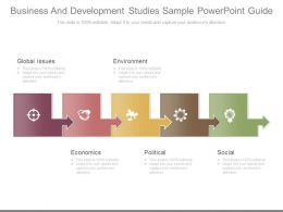 Business And Development Studies Sample Powerpoint Guide