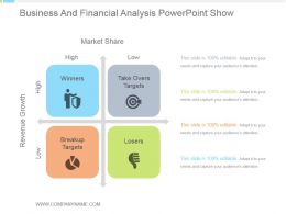 Business And Financial Analysis Powerpoint Show