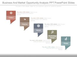 Business And Market Opportunity Analysis Ppt Powerpoint Slides