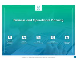 Business And Operational Planning New Business Development And Marketing Strategy Ppt Styles