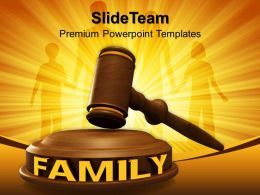 Business And Strategy Powerpoint Templates Family Law Editable Ppt Themes