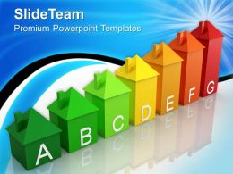 Business And Strategy Templates Energy Efficiency Environment Ppt Process Powerpoint