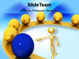 Business And Strategy Templates Spheres Leadership Download Ppt Presentation Designs Powerpoint