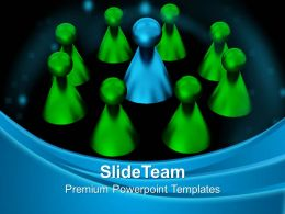 Business And Strategy Templates Stand Out Leadership Editable Ppt Design Slides Powerpoint
