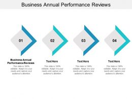 Business Annual Performance Reviews Ppt Powerpoint Presentation File Outline Cpb