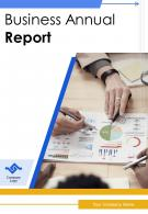 Business Annual Report PDF DOC PPT Document Report Template