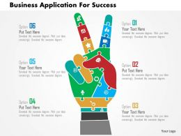 Business Application For Success Flat Powerpoint Design