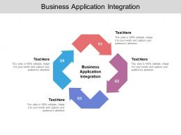 Business Application Integration Ppt Powerpoint Presentation Pictures Templates Cpb