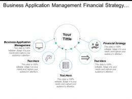 Business Application Management Financial Strategy Executive Management Interactive Marketing Cpb