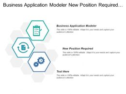 Business Application Modeler New Position Required Process Modeler