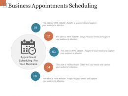 Business Appointments Scheduling Powerpoint Ideas