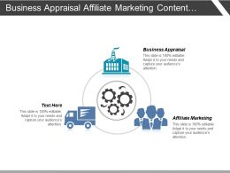 Business Appraisal Affiliate Marketing Content Management Brand Management Cpb