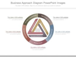 Business Approach Diagram Powerpoint Images