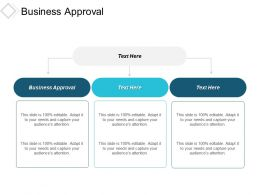 Business Approval Ppt Powerpoint Presentation Portfolio Graphics Template Cpb
