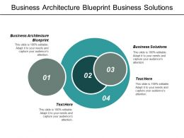 Business Architecture Blueprint Business Solutions Business Efficacy Visualization Data Cpb