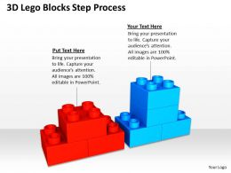 Business Architecture Diagrams Blocks Step Process Powerpoint Templates PPT Backgrounds For Slides