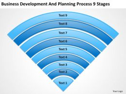 Business Architecture Diagrams Development And Planning Process 9 Stages Powerpoint Slides