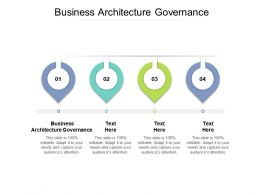 Business Architecture Governance Ppt Powerpoint Presentation Infographic Template Graphic Tips Cpb