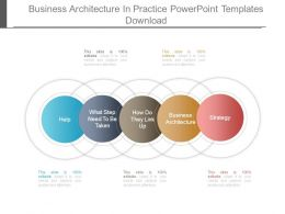 Business Architecture In Practice Powerpoint Templates Download