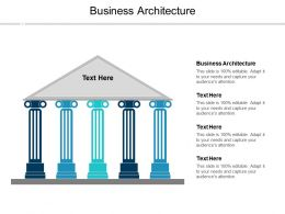 Business Architecture Ppt Powerpoint Presentation Outline Format Ideas Cpb