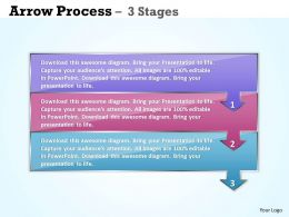 Business Arrow Process 3 Stages 25